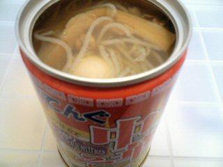 缶のラーメン