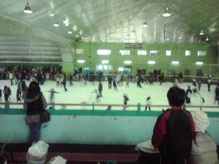 人生初スケート